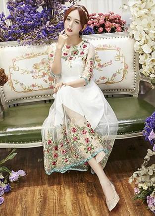 6款飘逸仙女裙 怎么穿都很美