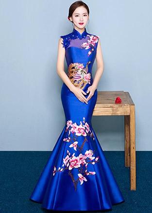 美丽女人只需一件合身旗袍