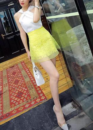 韩版女装丰胸肥臀的搭配技巧