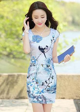 优雅旗袍裙让女人 从里到外凸显女神气质