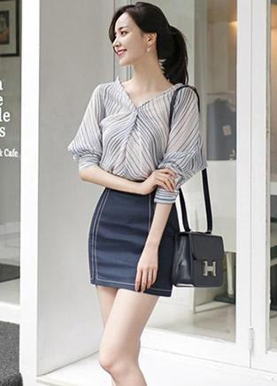春季女装穿出纤瘦体态优雅气质