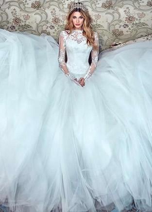 美到窒息的婚纱,你喜欢哪一套?