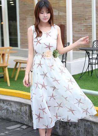 今夏流行的清凉美裙子,时尚甜美范十足