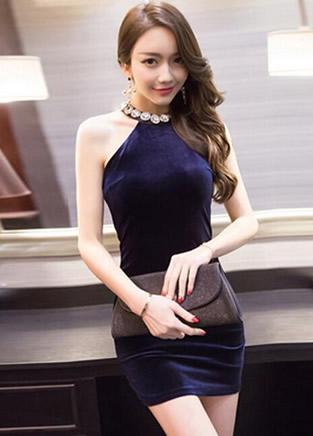 显瘦小黑裙、A字连衣裙,最爱第一款无袖包臀裙