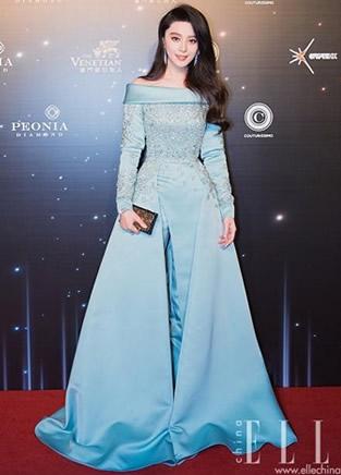 红毯女王范冰冰 品味着装越穿越好看了!