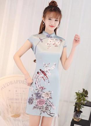 12款少女旗袍,优雅大气穿出可爱风