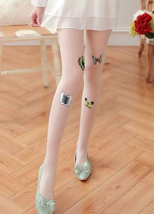 日系可爱丝袜迷人吸睛,爱上你的美腿