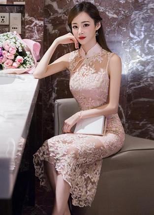 中国旗袍衣冠之美,东方女子大气温婉完美展现