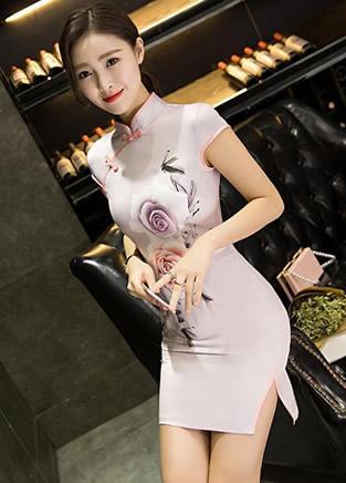这样的中国式旗袍真是美绝了!