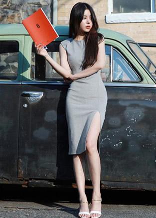 今年最流行的包臀裙,丰满女人更显性感