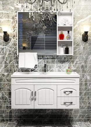 卫生间应该这样装修 时尚浴室柜实用上档次