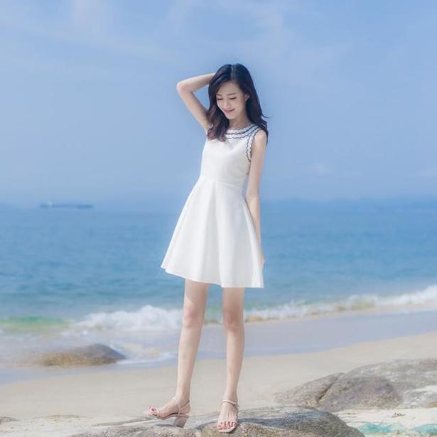 甜美小清新,漂亮的仙女裙值得拥有