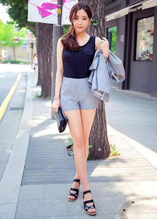 夏季短裤让你秒变时尚又清凉