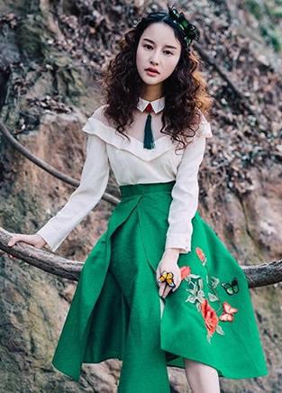 4种款式不规则连衣裙 独特不显俗气