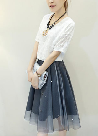 拼接连衣裙 风靡今夏整个时尚圈