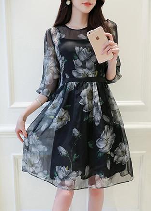 穿上这几款连衣裙去哪儿都迷人