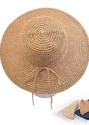 两款编织镂空小草帽 个性兼优雅