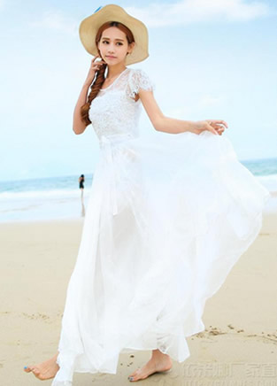 女神衣橱里应该有一件这样的仙女裙
