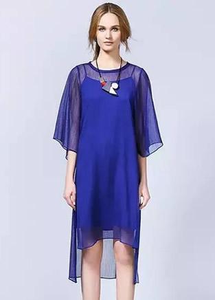 欧美风格连衣裙 清凉又养眼