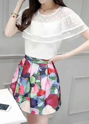成熟淑女与可爱风格 韩版潮流修身着装