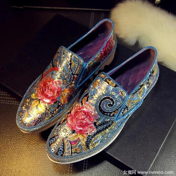 民族风时尚女鞋