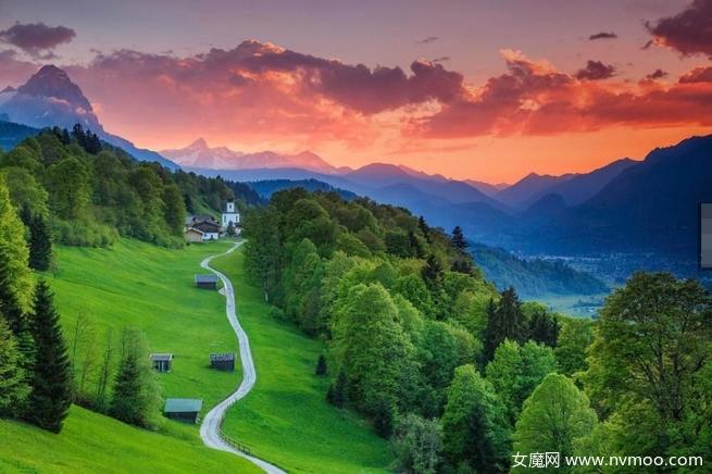 德国巴伐利亚(Bavaria,Germany) ─加尔米施-帕滕基兴
